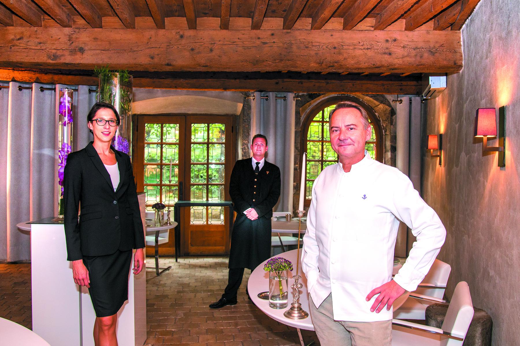 Restaurant Auberge de L'île Barbe - Jean-Christophe Ansanay-Alex