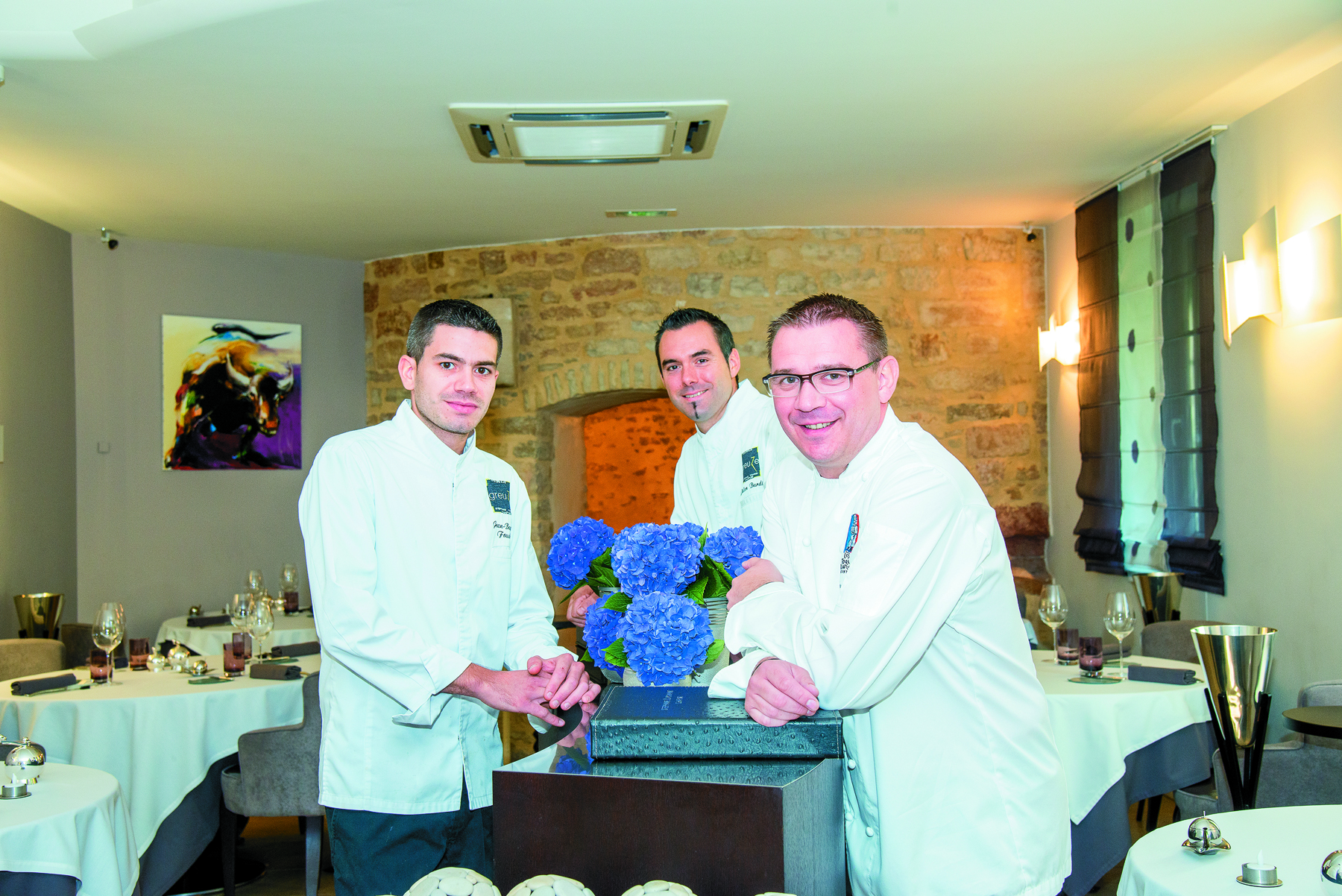 Restaurant Greuze Restaurant - Yohann Chapuis