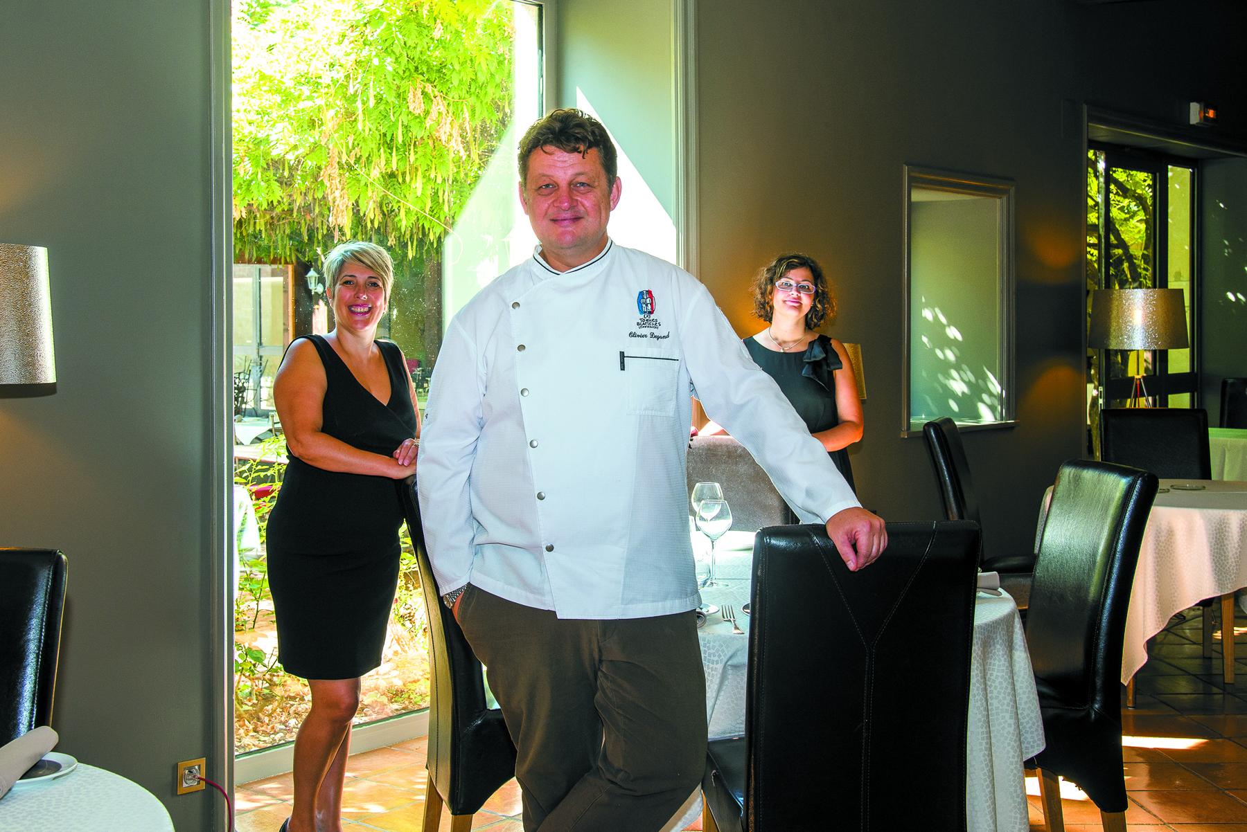 Restaurant L'hostellerie la Ferme du Poulet - Olivier Degand