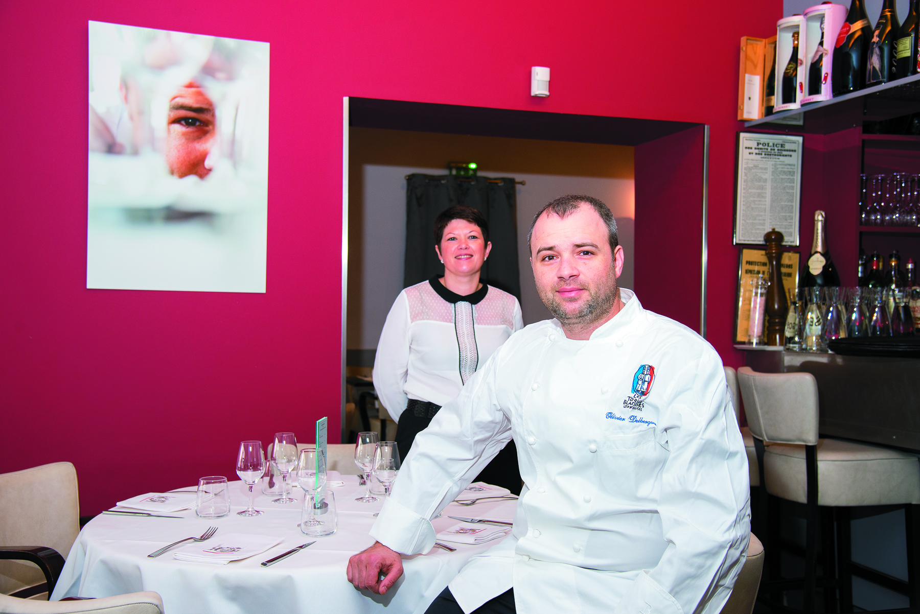 Restaurant La Table 101 - Olivier Delbergues