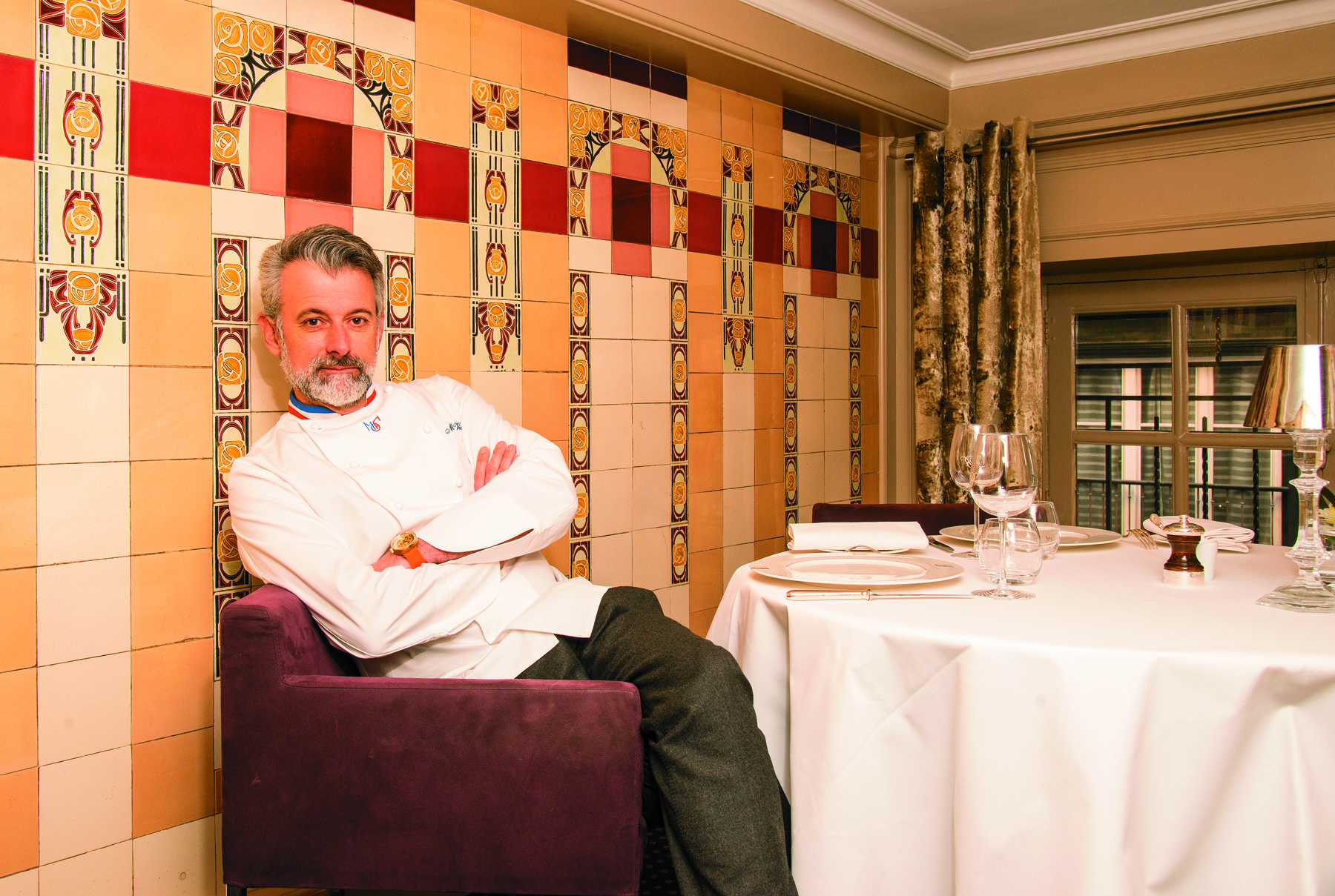 Restaurant La Mère Brazier - Mathieu Viannay