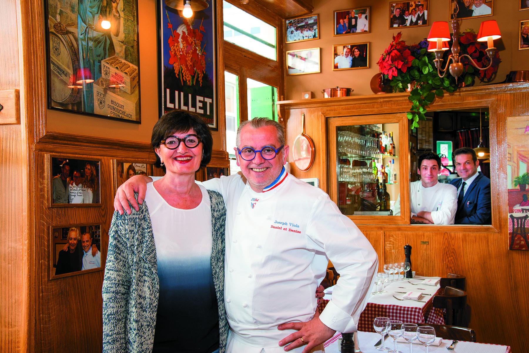 Restaurant Daniel et Denise - Joseph Viola