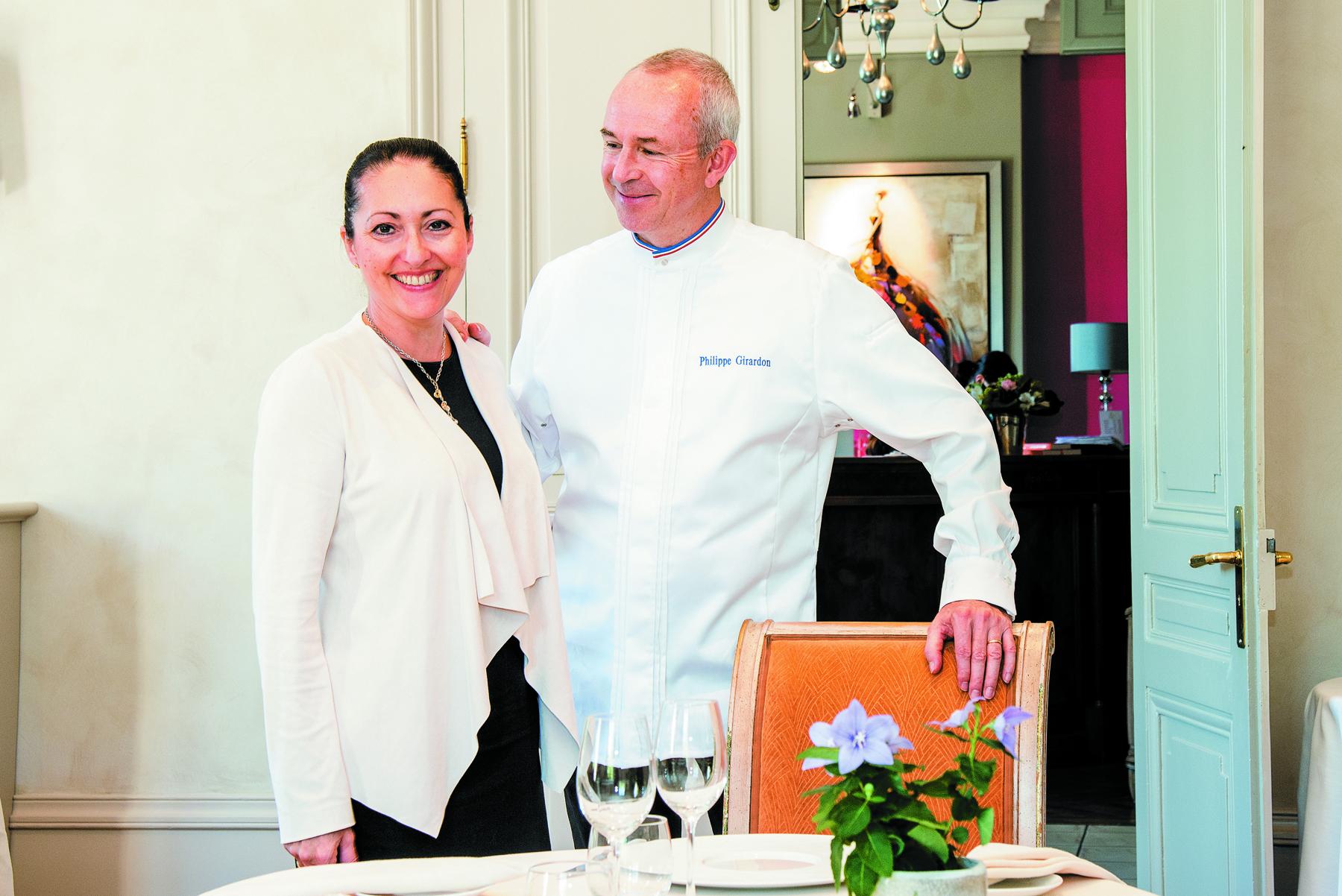 Restaurant Domaine de Clairefontaine - Philippe Girardon