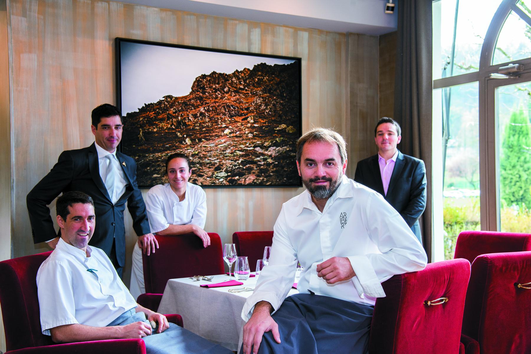 Restaurant Restaurant les Terrases d'Uriage - Christophe Aribert