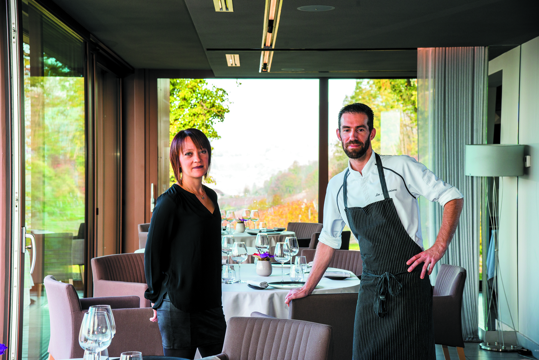 Restaurant Les Morainières - MichaëlARNOULT