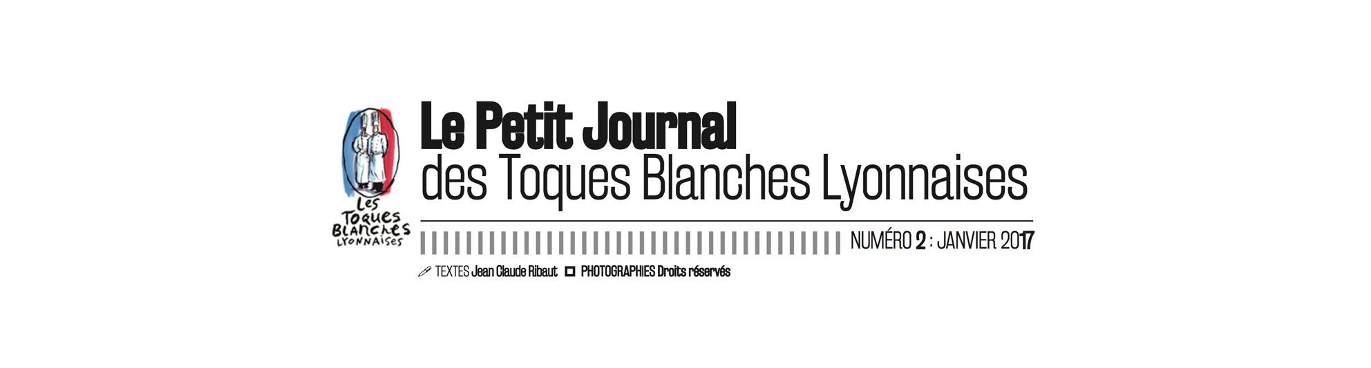 Le petit journal des Toques Blanches Lyonnaises N°2 : Spécial SIRHA