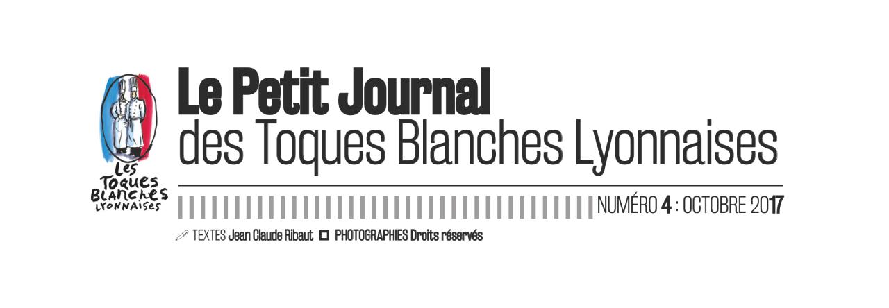 Petit journal des Toques Blanches Lyonnaises N°4