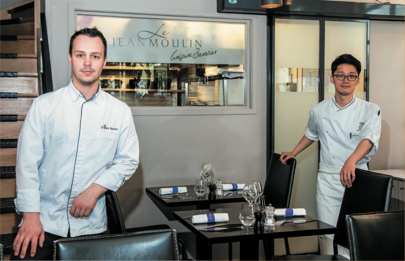 Restaurant Le Jean Moulin - Grégoire Baratier