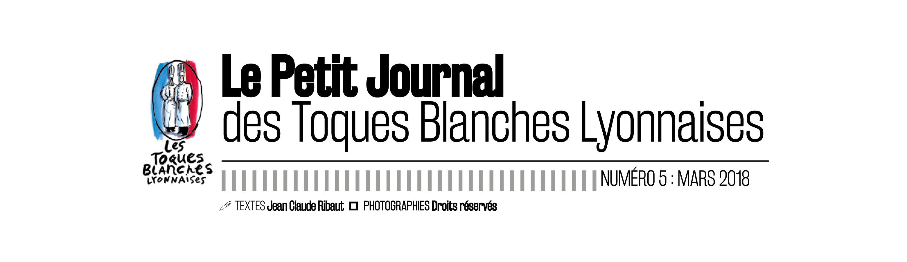 Petit journal des Toques Blanches Lyonnaises N°5