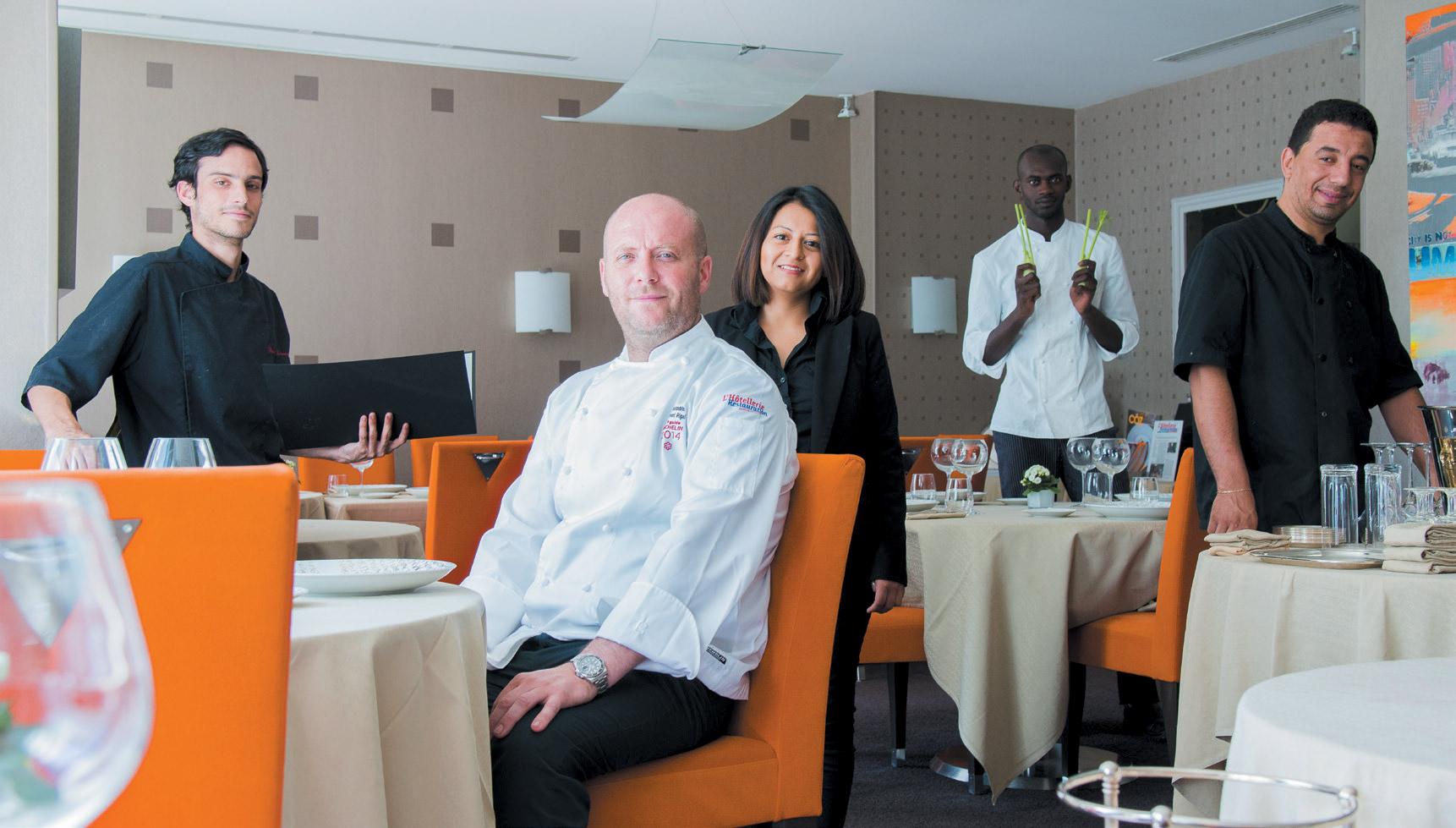 Restaurant L'Alexandrin - Laurent Rigal