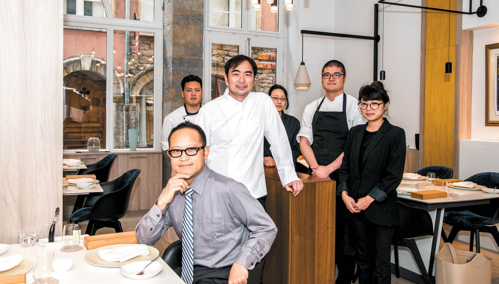 Restaurant Au 14 Février Vieux Lyon - Tsuyoshi Arai