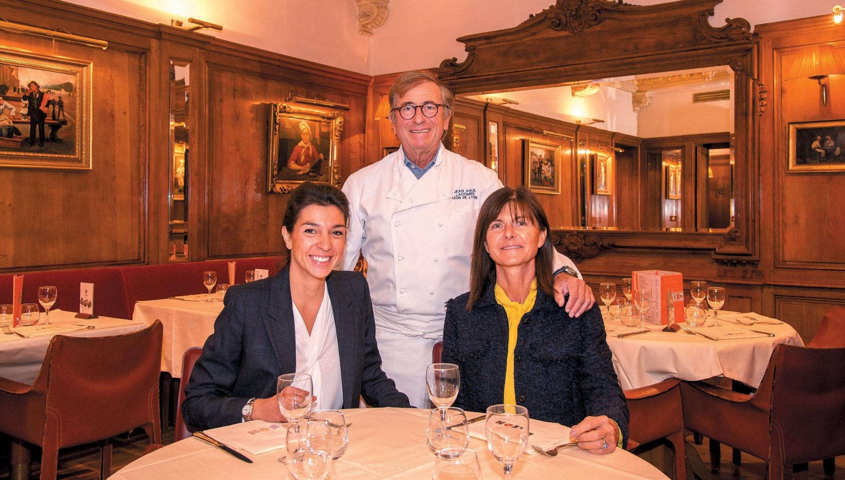 Restaurant Brasserie Léon de Lyon - Jean-Paul Lacombe