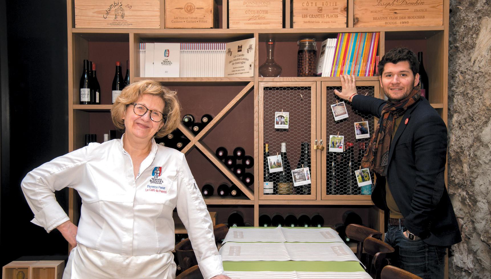 Restaurant Café du Peintre - Florence Périer