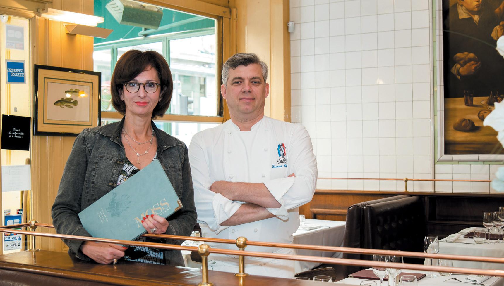 Restaurant Chez Moss - Laurent Bouvier