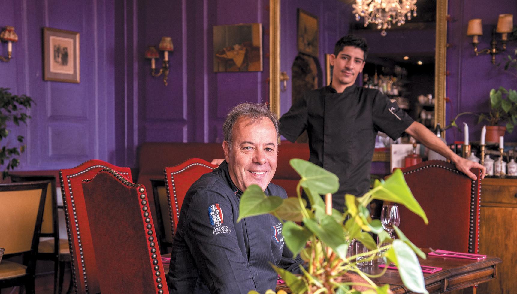 Restaurant Le Grain de Folie - Kamel Bellouere