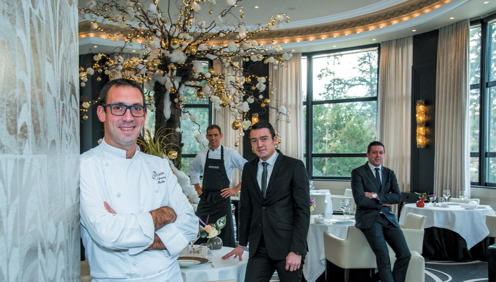 Restaurant La Rotonde - Jean-François Malle
