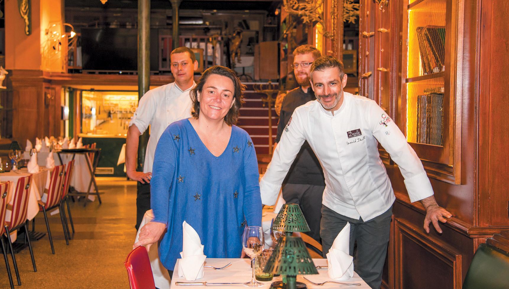 Restaurant Le Caro de Lyon - Yannick Decelle