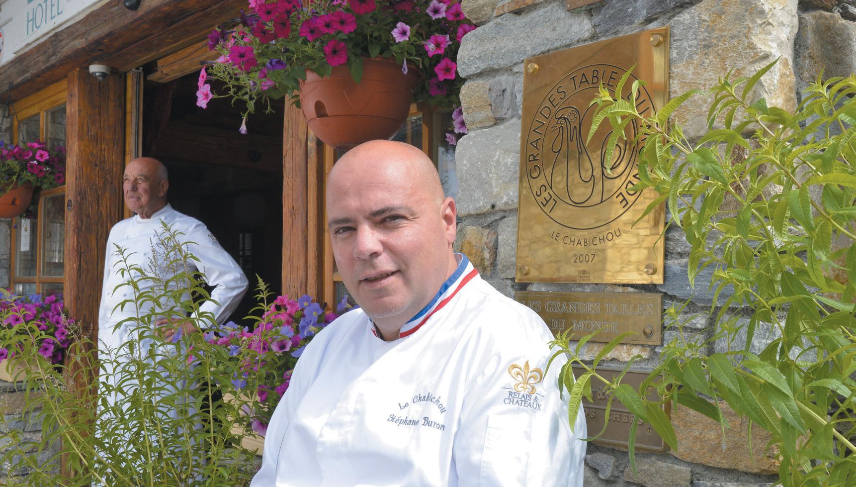 Restaurant Le Chabichou - Stéphane Buron
