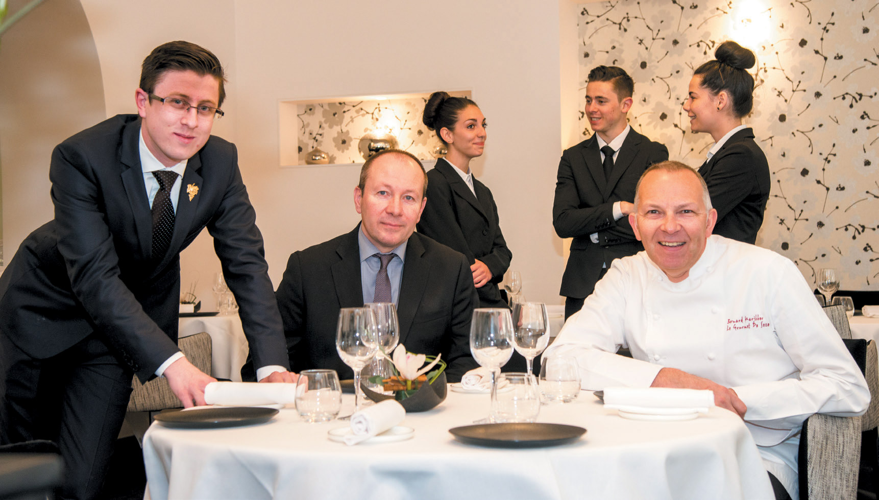 Restaurant Le Gourmet de Sèze - Bernard Mariller