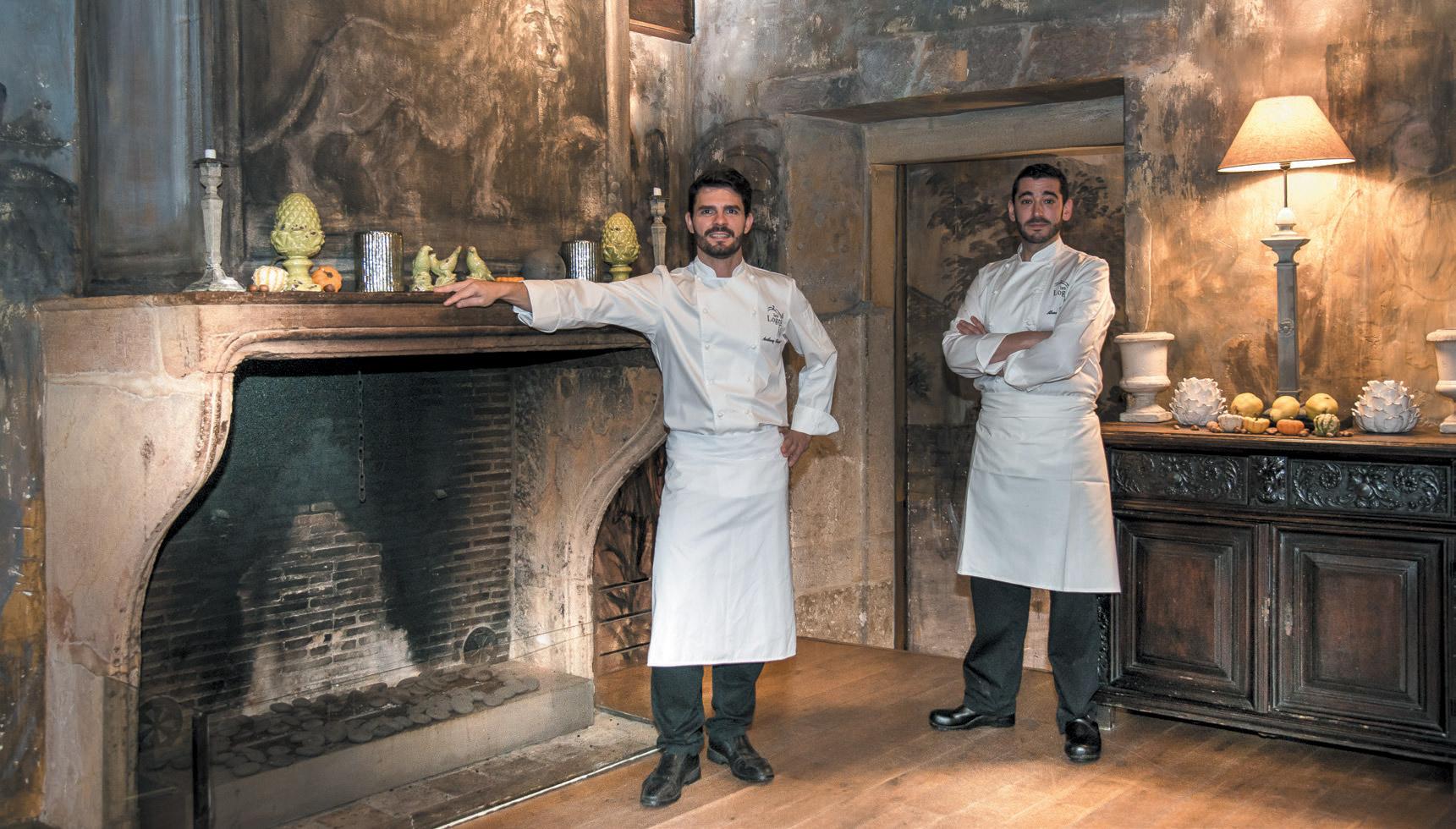 Restaurant Cour des Loges - Anthony Bonnet