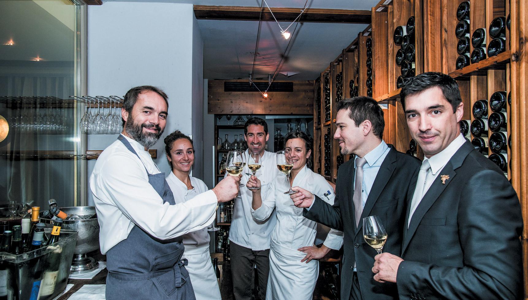 Restaurant les Terrasses d\'Uriage - Les Toques Blanches Lyonnaises ...
