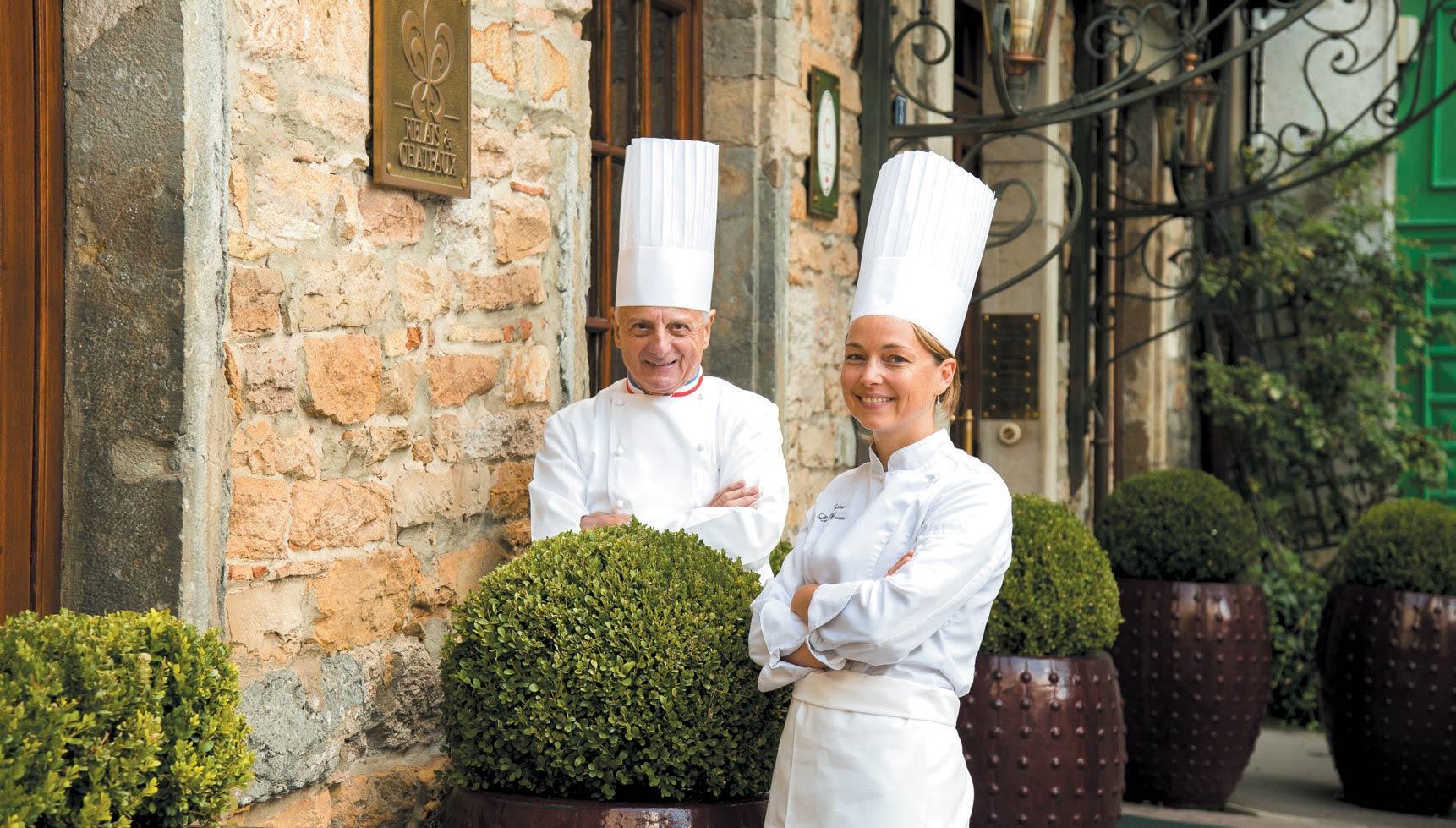Restaurant Pierre ORSI Relais & Châteaux - Pierre Orsi