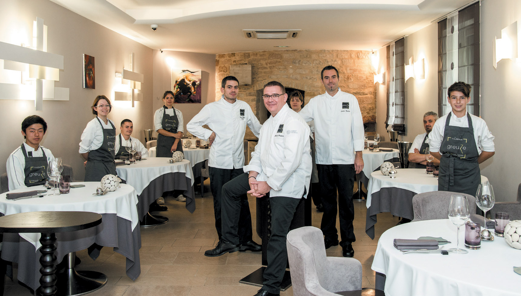 Restaurant Greuze - Yohann Chapuis