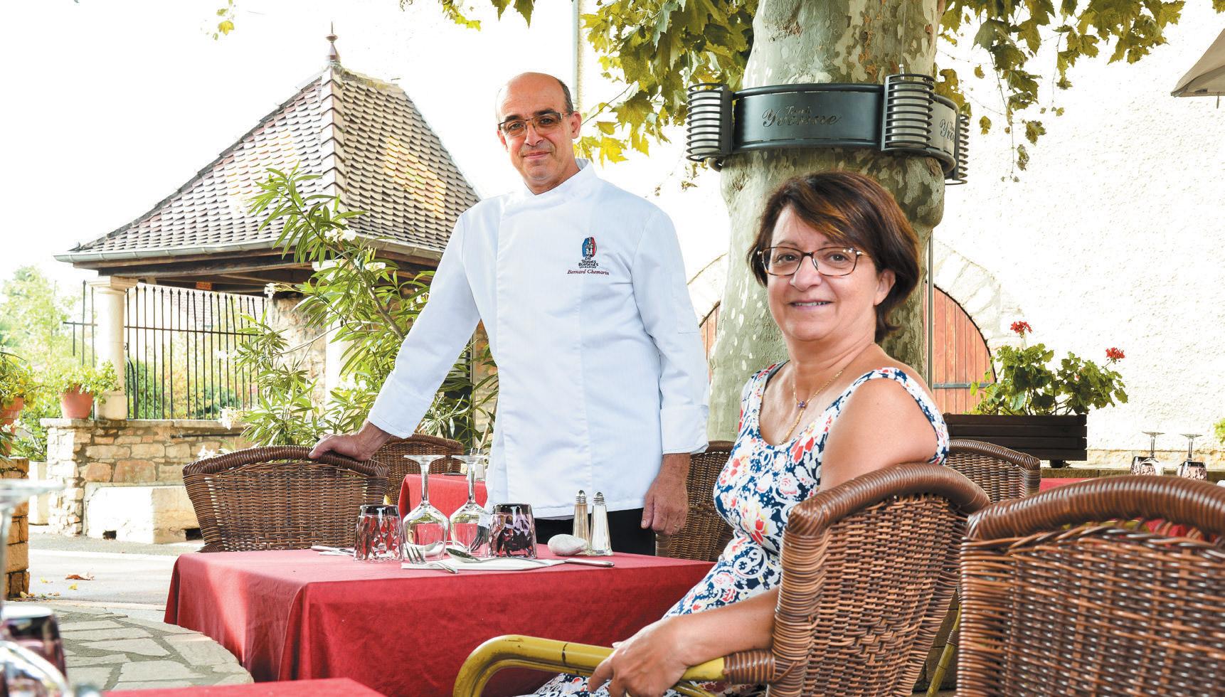 Restaurant Tante Yvonne - Bernard Chemarin