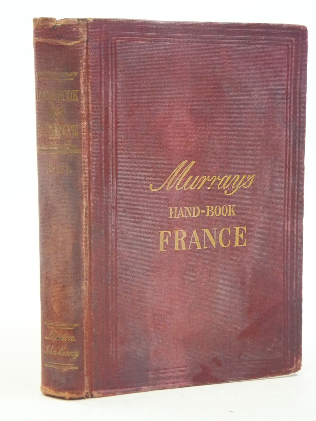 Murrays Handbook France - guide rouge