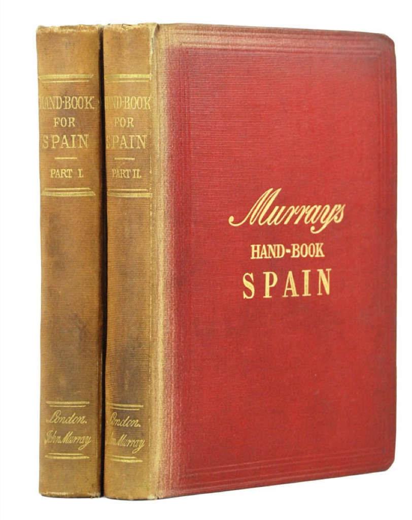 Murrays Hand Book Spain - guide rouge