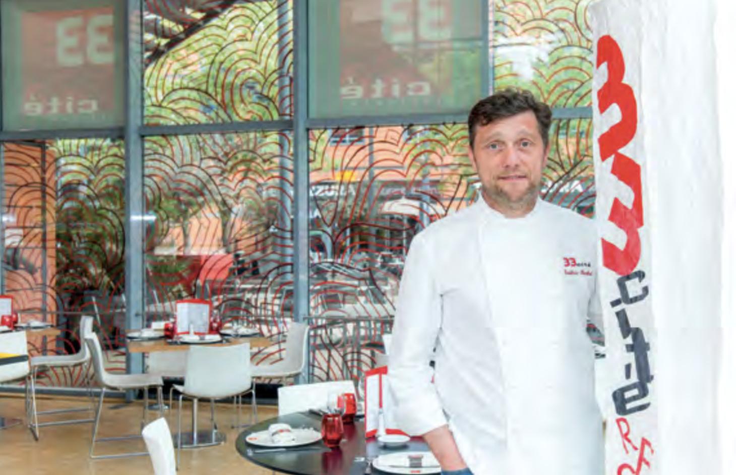 Restaurant 33 Cité - Frédéric Berthod