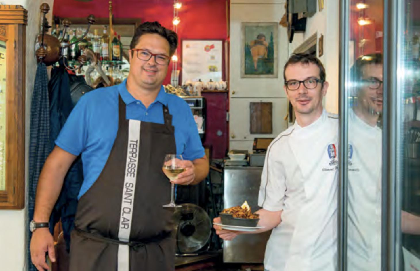 Restaurant La Terrasse Saint Clair - Clément Boucher