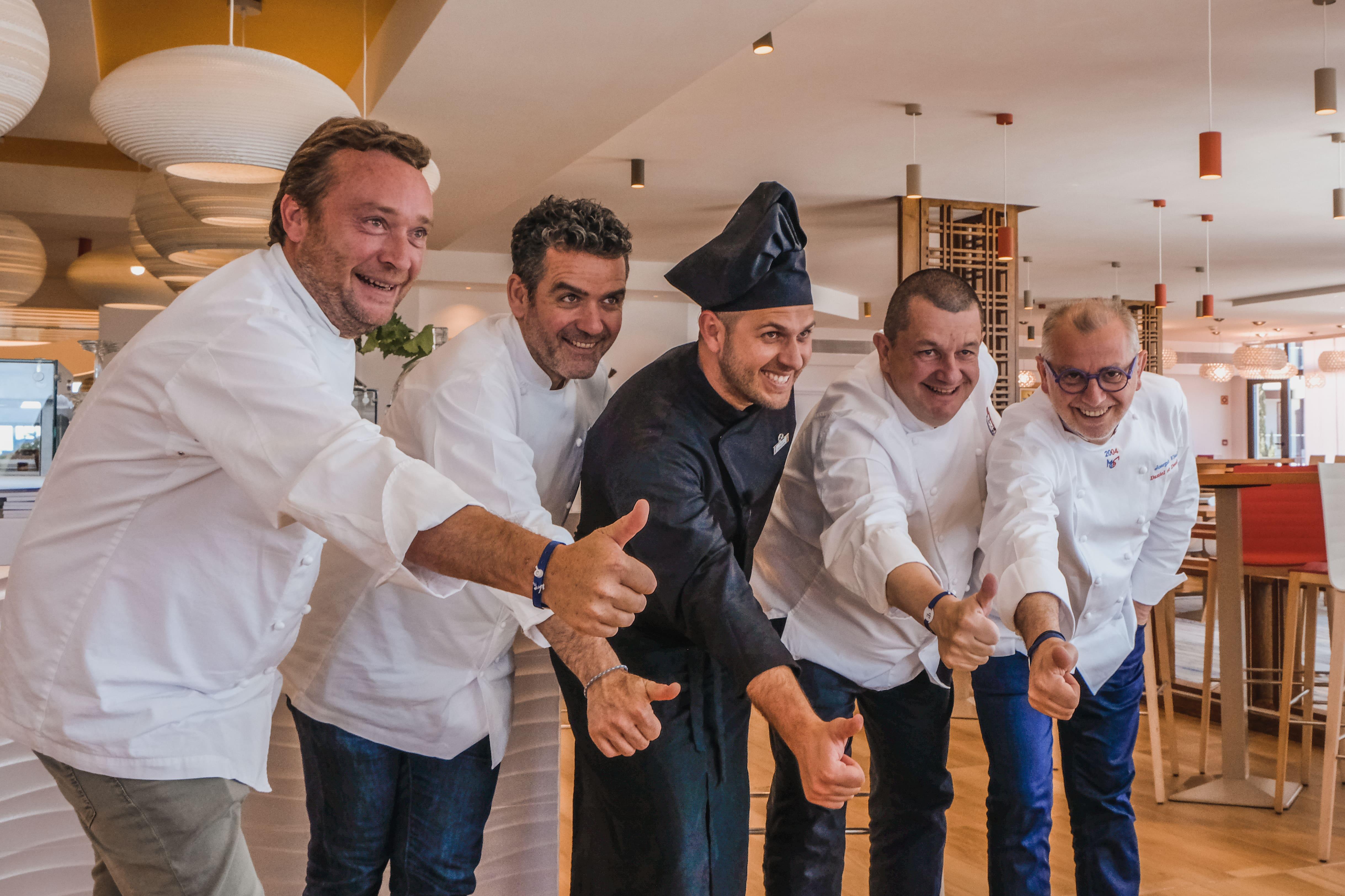 Les Toques Blanches Lyonnaises & Club Med, ensemble pour promouvoir les valeurs de la gastronomie