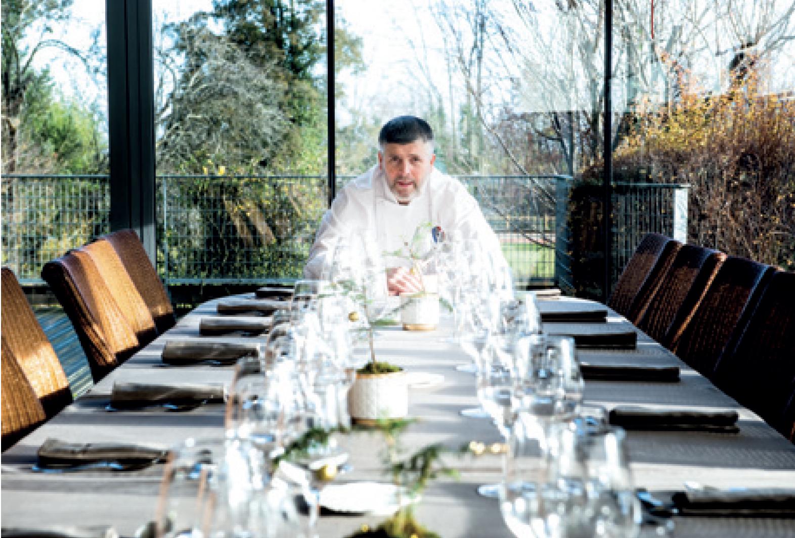 Restaurant Le Château de Champlong - Olivier BOIZET