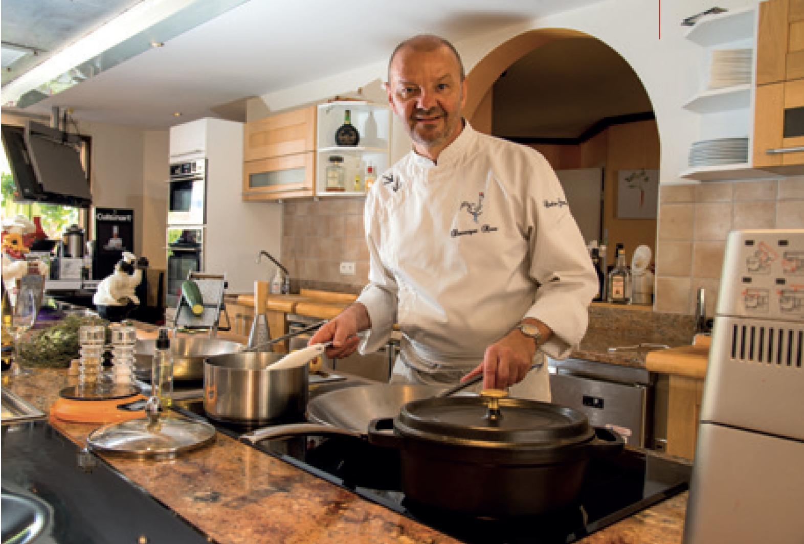 Restaurant Coulisses gourmandes - Dominique Roué