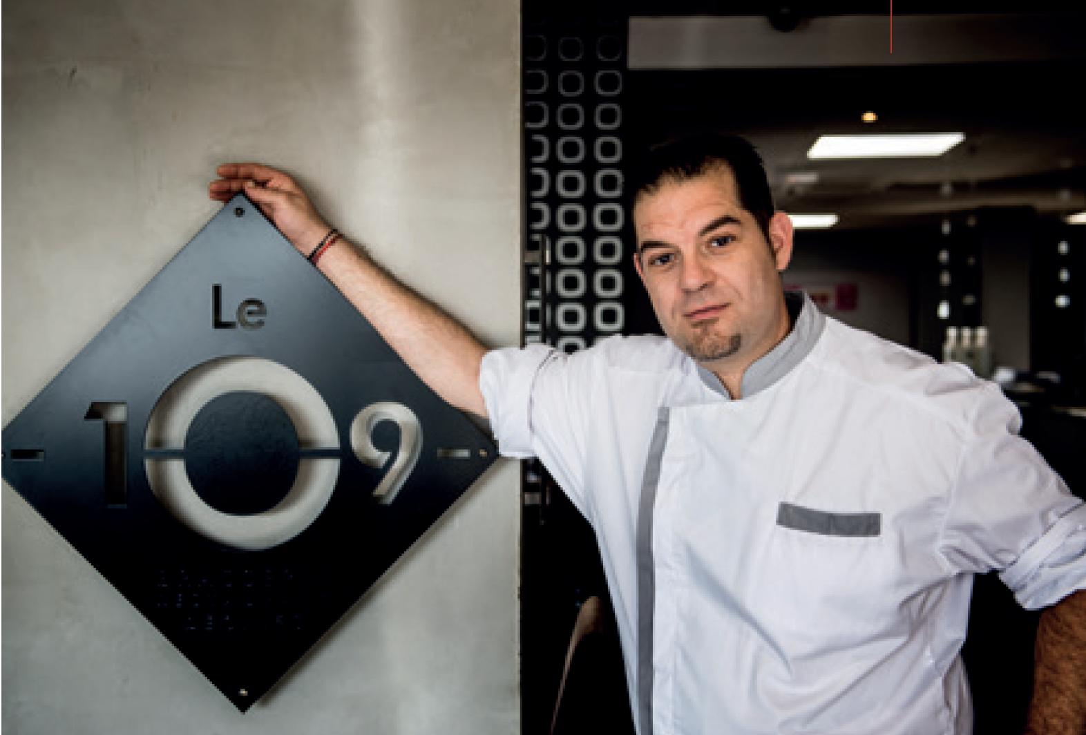 Restaurant 109 Restaurant - Michaël Toledo