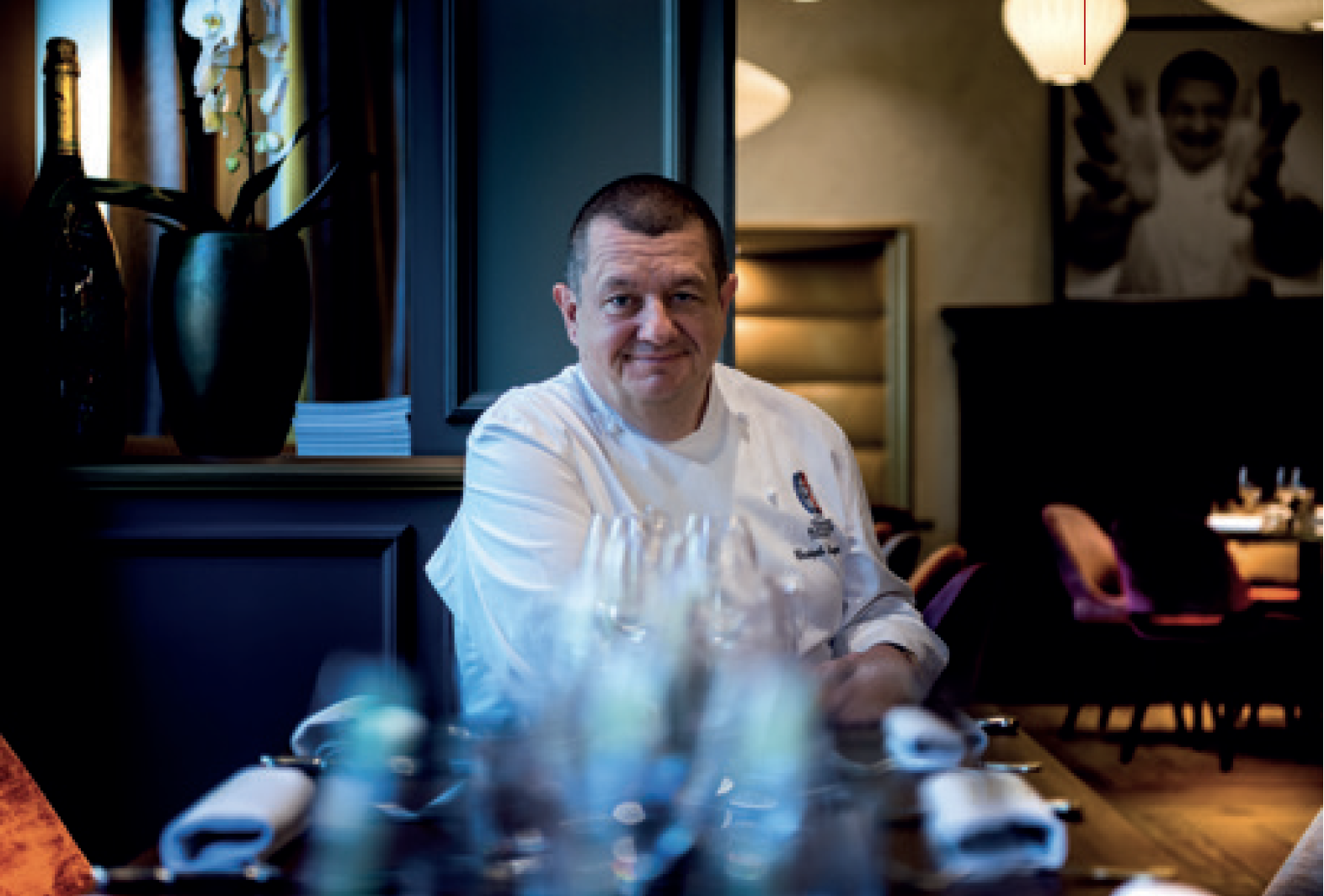 Restaurant Le Président - Christophe Marguin