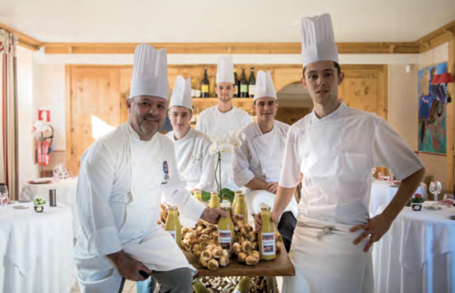 Restaurant Le Tilia - André Chouvin