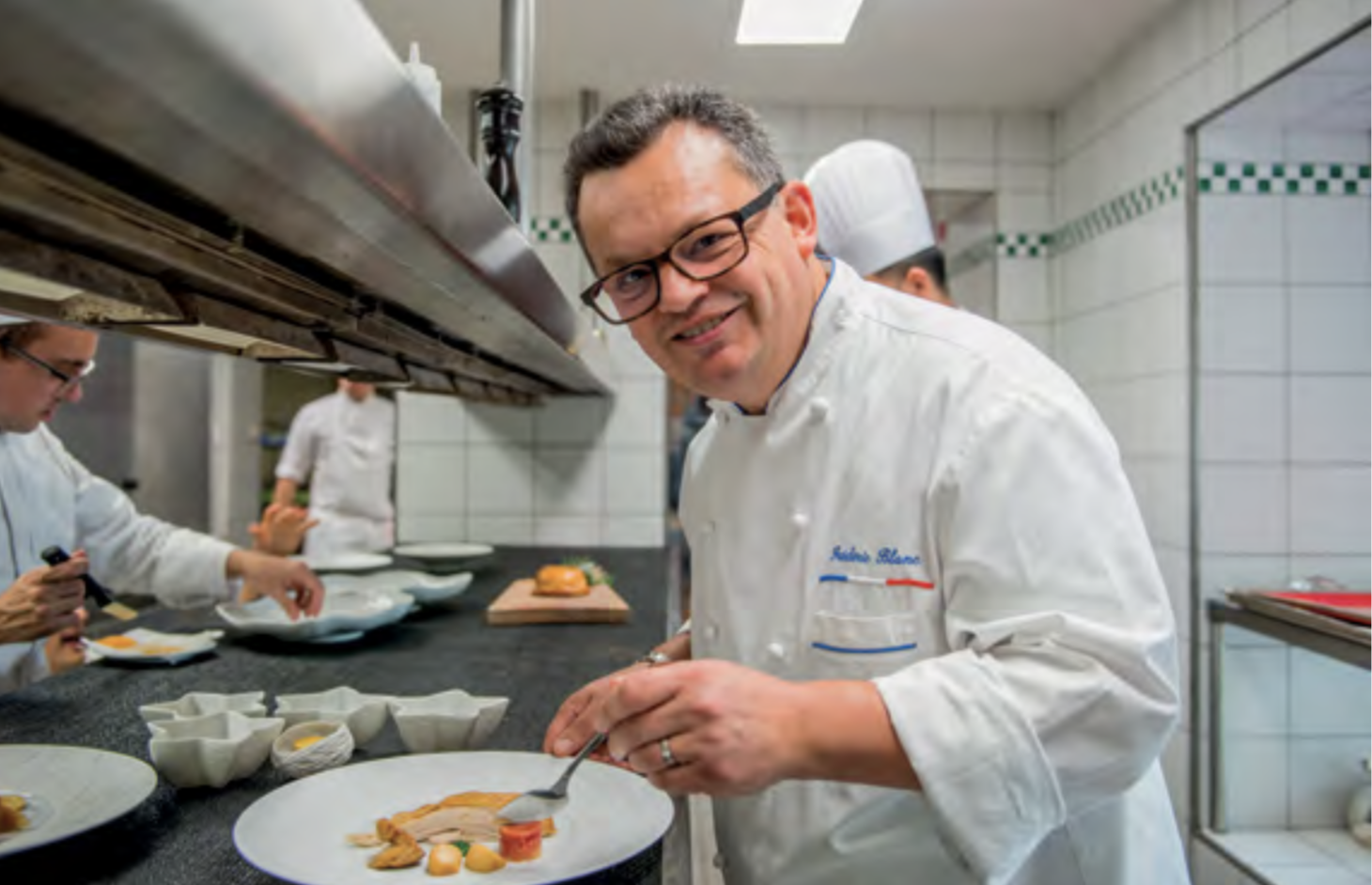 Restaurant Georges Blanc - Frédéric Blanc