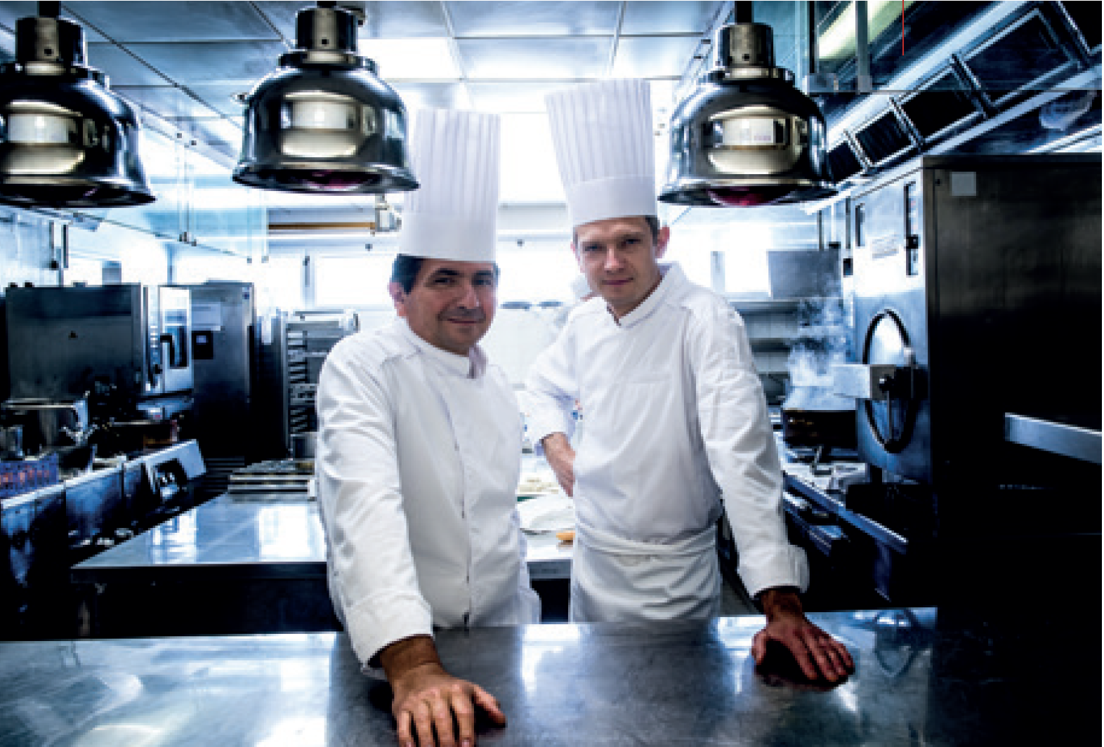 Restaurant Les Trois Dômes - Christian Lherm