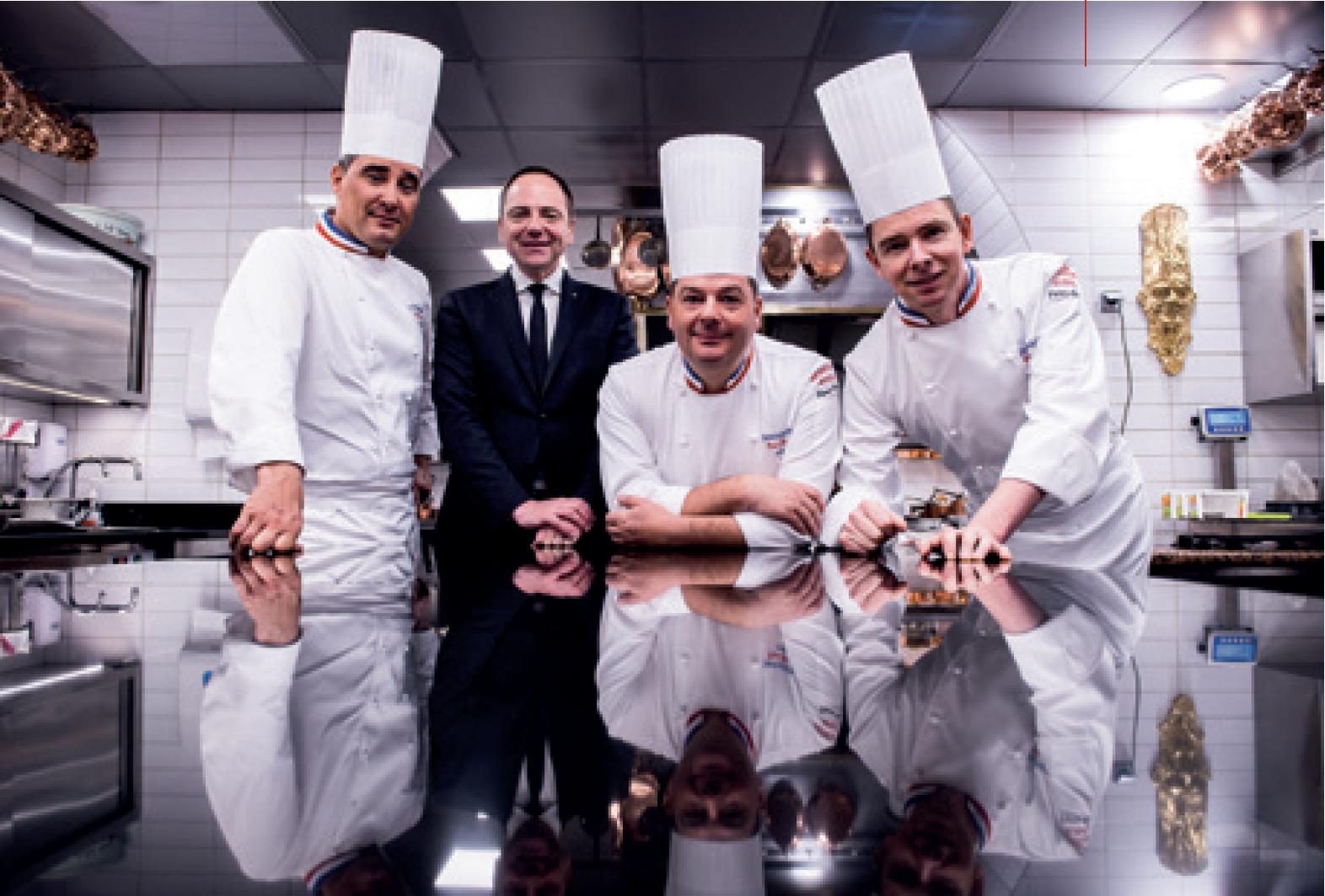 Restaurant Paul Bocuse - Auberge du Pont de Collonges - Paul Bocuse - Gilles Reinhardt - Christophe Muller - Olivier Couvin