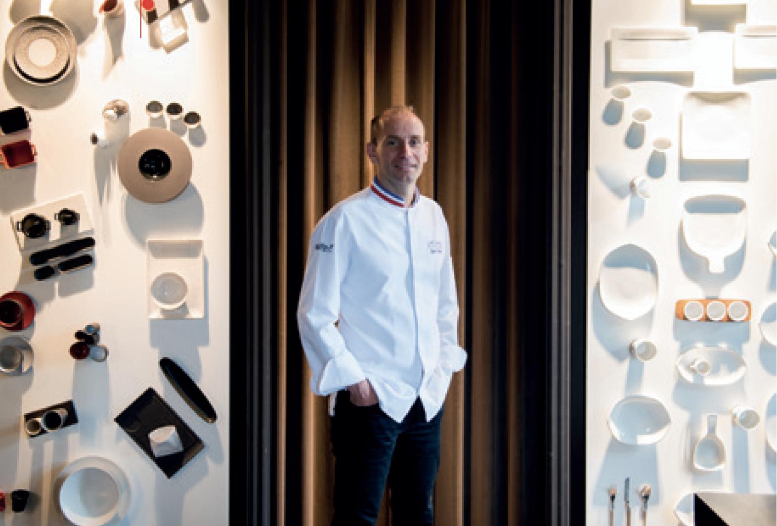 Restaurant Saisons Restaurant d'application - Davy Tissot  et Alain Lecossec